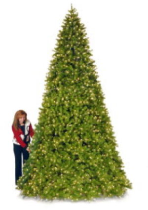 9FT artificial christmas trees